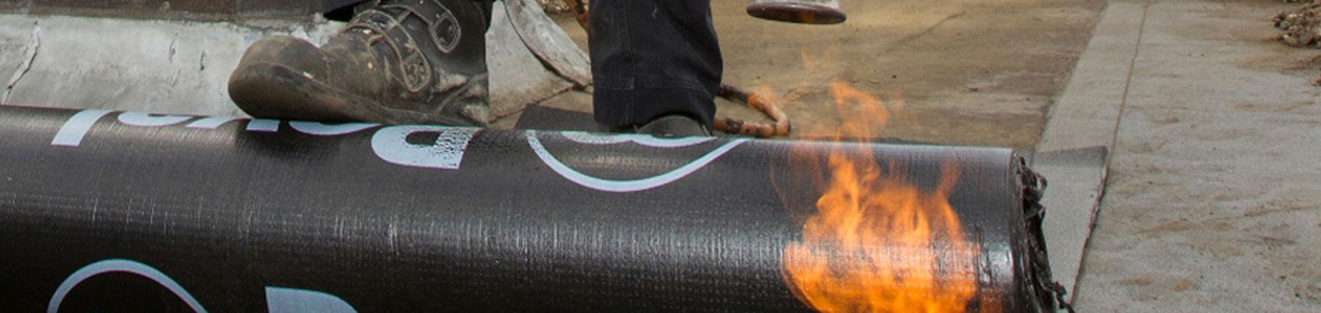 Bitumen dakbedekking